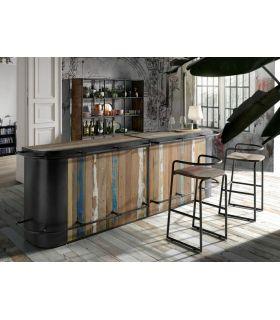 Comprar online Barra de Bar de estilo industrial Modelo SYMBIOZ Doble