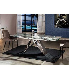 Comprar online Mesa de Comedor Extensible de Acero modelo MIKA Schuller