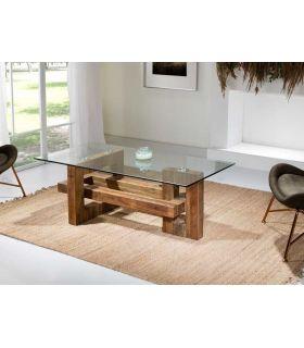 Comprar online Mesa de Centro en madera de Olmo modelo ALBINA Schuller