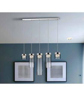 Comprar online Lámpara de Techo moderna modelo AVA Cromo Dimable Schuller