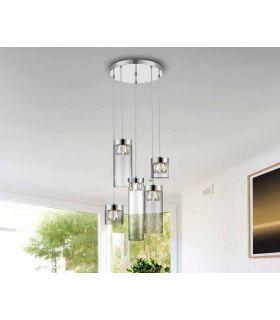 Comprar online Lámpara moderna de techo colección AVA 5 luces Schuller