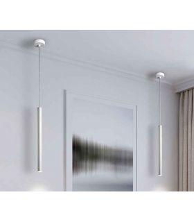 Comprar online Colgante luz led dimable colección VARAS 1L. Blanco. Schuller