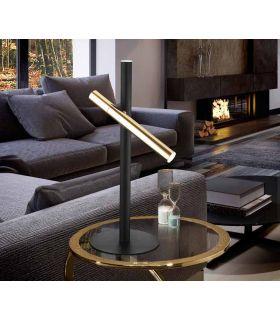 Comprar online Lámpara de Mesa colección VARAS 2L Oro/Negro Schuller