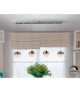 Comprar online Lámpara LED Lineal con tulipas esféricas SPHERE Dimable