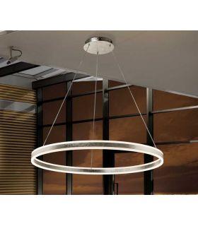 Comprar online Lámpara moderna de techo colección HELIA PLATA GR Schuller