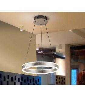 Comprar online Lámpara moderna de techo colección HELIA PLATA PQ Schuller