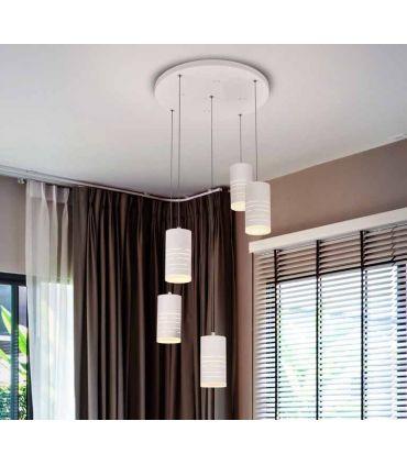 Lámpara de Techo moderna colección VIKA 5L Schuller