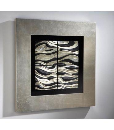 Cuadro bajorrelieve moderno modelo OLEAJE C Schuller