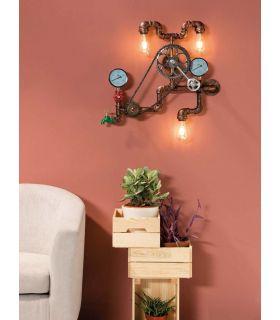 Comprar online Aplique de pared de estilo industrial modelo TUBULAR