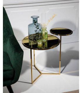 Comprar online Mesa Auxiliar en metal modelo SATÉLITE Oro