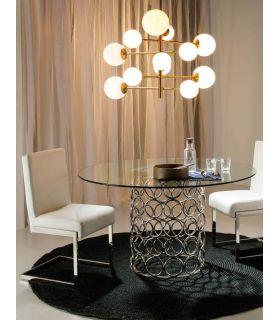 Comprar online Mesa de salón comedor de acero Modelo ERANDIO