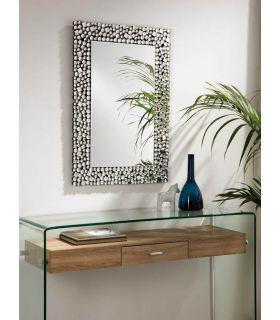 Comprar online Espejo decorativo con cuentas de cristal BURBUJAS