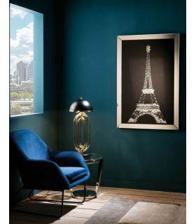 Comprar online Cuadro decorativo con marco de lunas espejadas EIFFEL