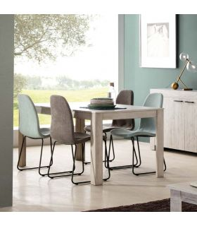 Comprar online Mesa de salón comedor en madera Colección MICHIGAN