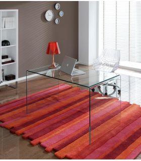 Mesas de Comedor-Salon de Cristal : Modelo LISITEA continua