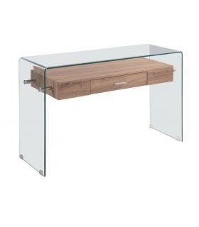 Comprar online Consola de cristal y madera Modelo MARILYN