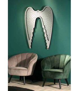 Comprar online Espejo de pared con lunas de cristal ALAS