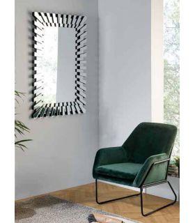 Comprar online Espejo rectangular con lunas de cristal modelo KAOS