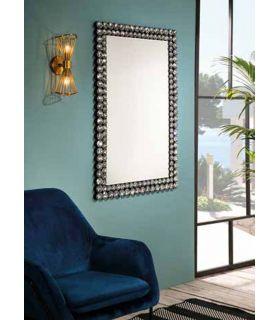 Comprar online Espejo rectangular con marco de cristal modelo CORONA