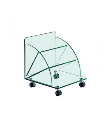 Revistero de cristal templado modelo COIMBRA