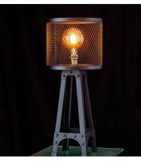 Comprar online Lámpara de Mesa de estilo Industrial Colección CAGE
