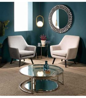 Comprar online Butaca tapizada de diseño contemporáneo Modelo DENVER