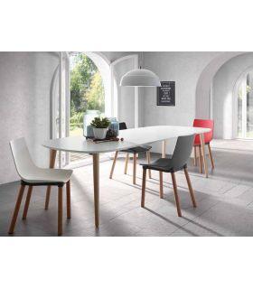 Comprar online Mesa Extensible de estilo Nórdico : Modelo OAKLAND