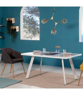 Comprar online Mesa lacada en color blanco modelo FROST