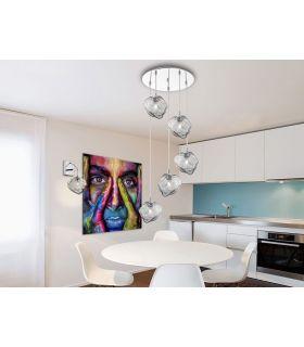 Comprar online Lámpara de 5 Luces Colección PETRA Redonda