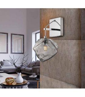 Comprar online Aplique de pared con tulipa de cristal Colección PETRA