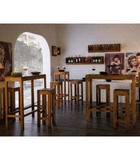 Mesas Altas de Bar : Colección MINIMAL