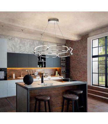 Lámpara de techo con Luz LED COLETTE Cromo