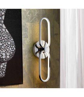 Comprar online Aplique LED de diseño moderno Colección COLETTE Cromo