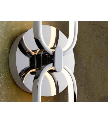 Aplique LED de diseño moderno Colección COLETTE Cromo
