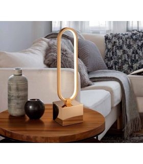 Comprar online Lámpara LED de mesa Colección COLETTE Oro