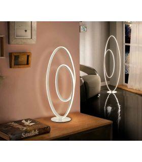Comprar online Lámpara de Mesa Diseño con Luz Led mod. LOOP Schuller