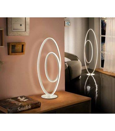 Lámpara de Mesa Diseño con Luz Led mod. LOOP Schuller