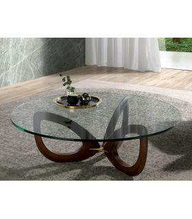 Comprar online Mesa de centro en madera maciza de fresno NICOS