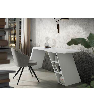 Escritorio de diseño Italiano modelo TYNA Blanco