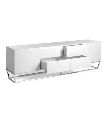 Mueble de Televisión moderno con patas de acero Colección SIGMA