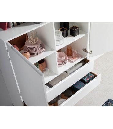 Mueble Aparador en madera y acero colección SIGMA