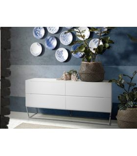Comprar online Mueble Aparador en madera y acero colección SIGMA Cajones