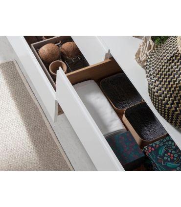 Mueble Aparador en madera y acero colección SIGMA Cajones
