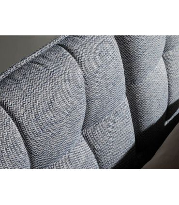 Cama de diseño italiano tapizada modelo KEO