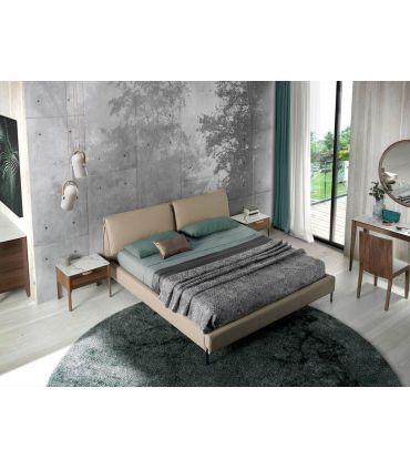 Cama tapizada con cojines elevables modelo HIDRA