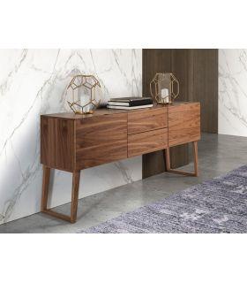Comprar online Aparador de estilo nórdico en madera de nogal modelo SENIA