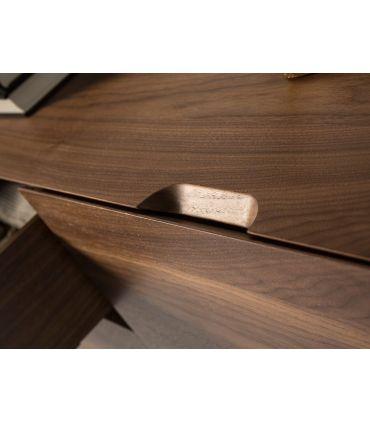 Aparador de estilo nórdico en madera de nogal modelo SENIA