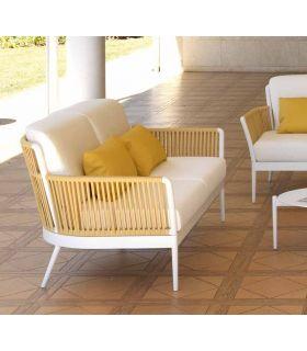 Comprar online Sofá de 2 plazas en aluminio y cuerda Colección ARENA