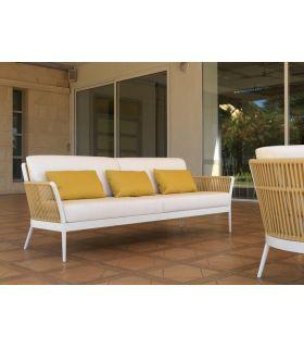 Comprar online Sofá de 3 plazas en aluminio y cuerda Colección ARENA