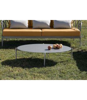Comprar online Mesa de centro ovalada de aluminio Colección SINTRA